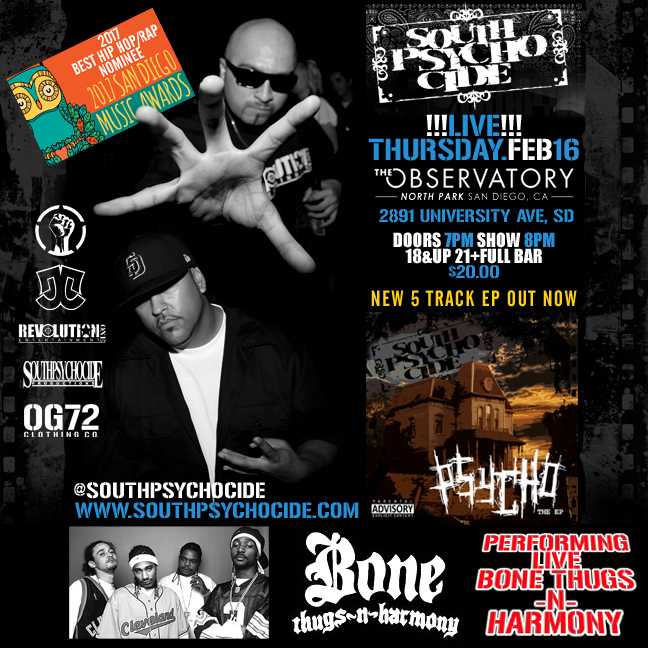 South Psycho Cide with Bone Thugs N Harmony